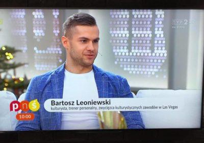 Wywiad z Bartoszem Leoniewskim w Pytanie Na Śniadanie